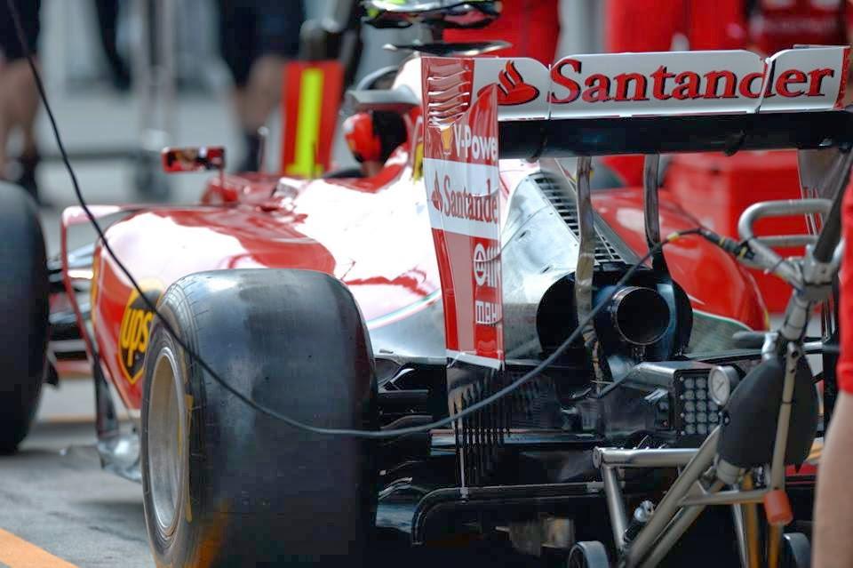 novità tecniche Ferrari F14 T GP Malesia