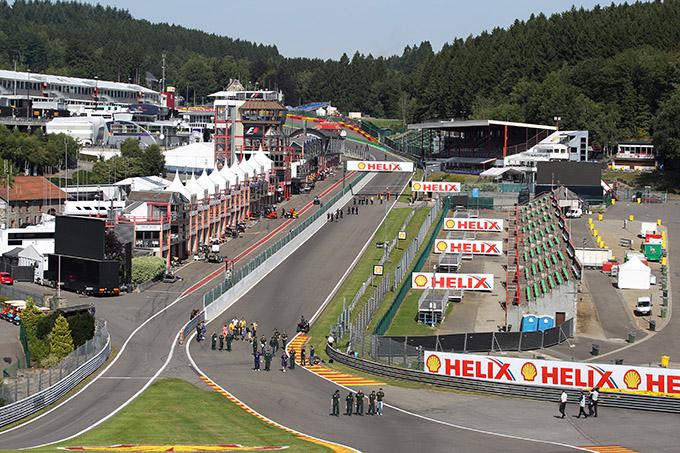 F1 GP Belgio 2013, Prove Libere 1 in diretta