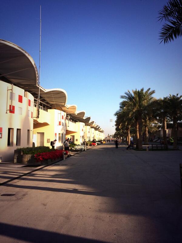 test f1 bahrain