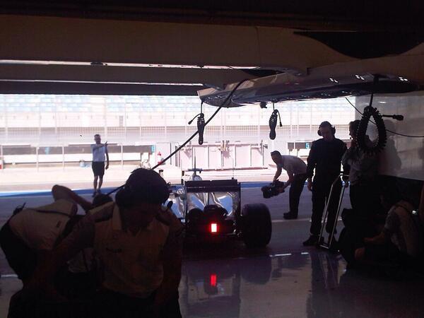 Jenson Button (McLaren MP4-29 Bahrain Test