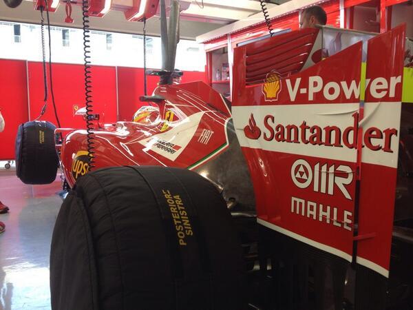 Fernando Alonso (Ferrari F14 T Test Bahrain)