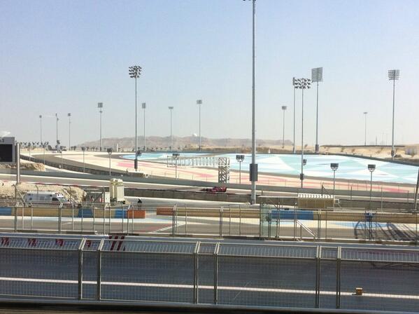 Jean-Eric Vergne (Toro Rosso) Test Bahrain F1