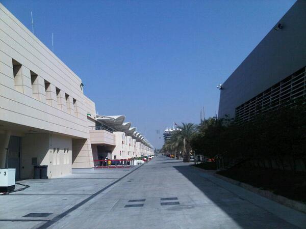 Paddock Test F1 Bahrain