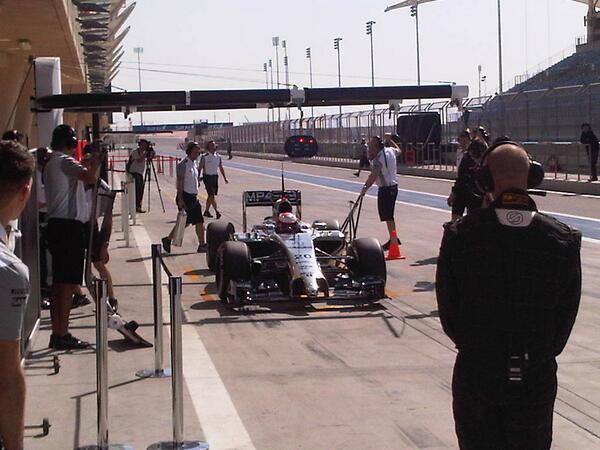 Kevin Magnussen (McLaren) Test F1 Bahrain