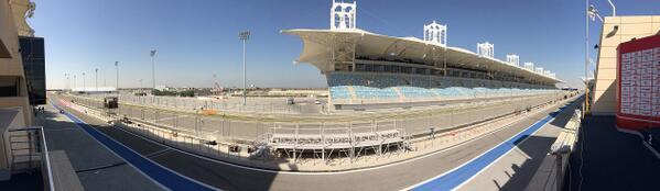 Foto Panoramica Circuito Bahrain F1