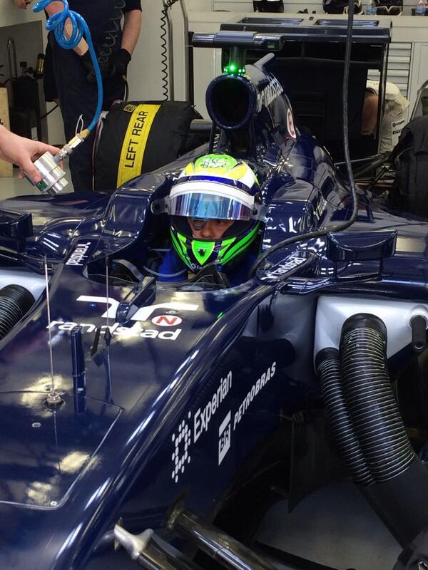 Felipe Massa (Williams) Foto Test Bahrain F1