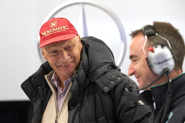 Niki Lauda (Mercedes)