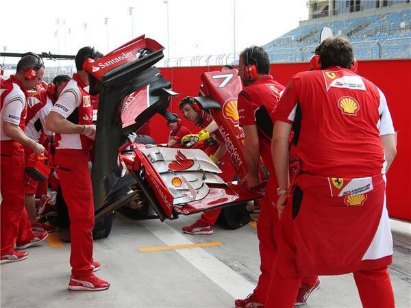 Ferrari F14 T nuova ala