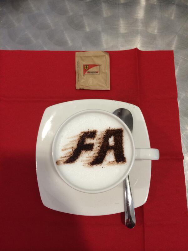 Cappuccino Alonso Ferrari