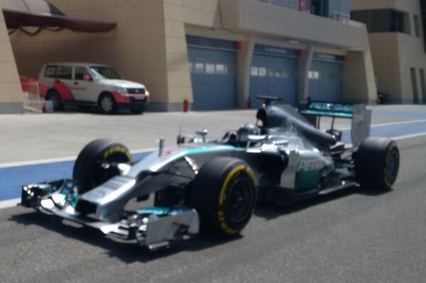 Nico Rosberg (Mercedes W05)