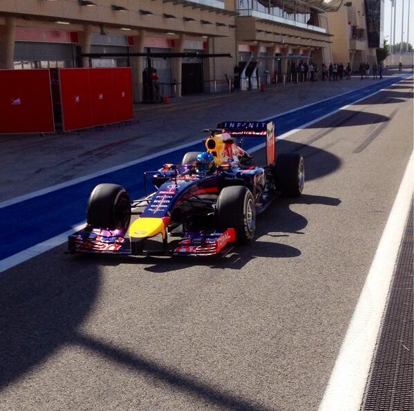 Sebastian Vettel (Red Bull RB10)