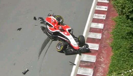 Incidente Marussia Bianchi GP Canada 2014