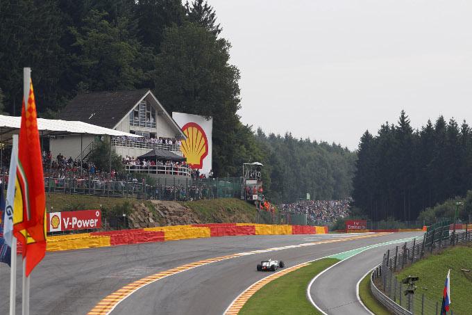 GP Belgio: la gara in Diretta