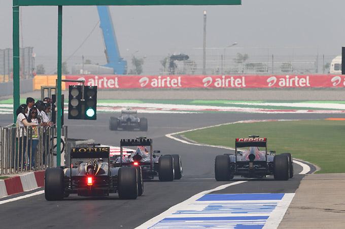 F1 GP India: la gara in Diretta