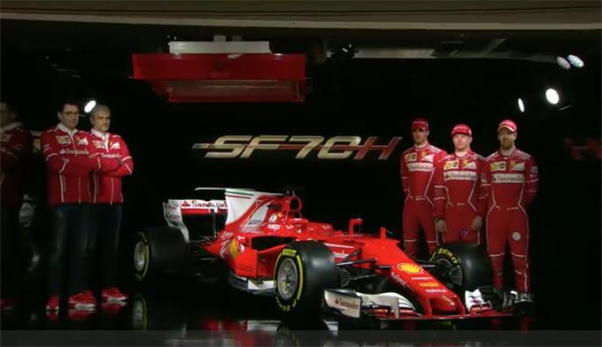 Nuova Ferrari F1 2017: la Presentazione in Diretta [Foto e Video]
