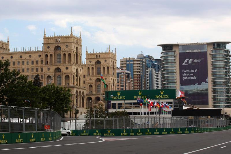 F1 GP Azerbaijan: Prove Libere 1 in Diretta (Live e Foto)