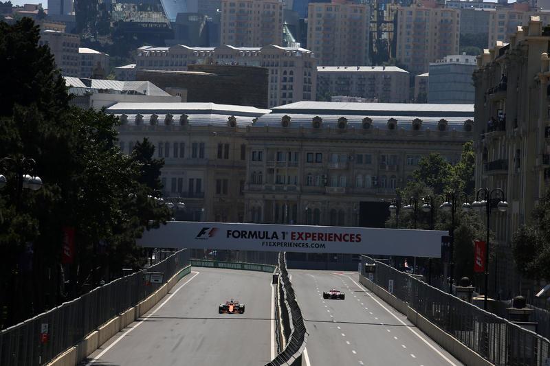 F1 GP Azerbaijan: Qualifiche in Diretta (Live e Foto)