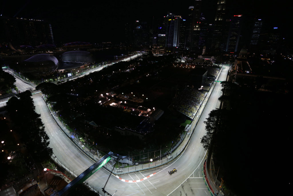 F1 GP Singapore: Prove Libere 3 in Diretta (Live e Foto)