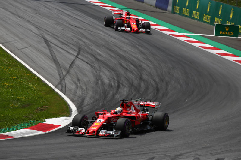 F1, due Ferrari sul podio in Austria. Vince Verstappen