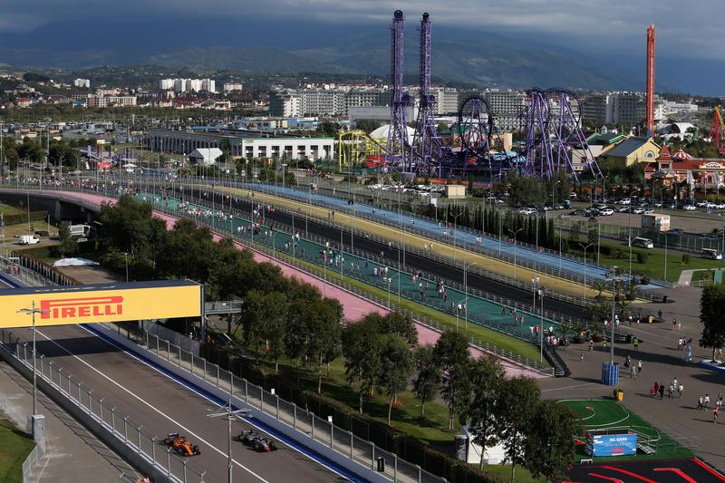 F1 GP Russia: la gara in diretta (live e foto)